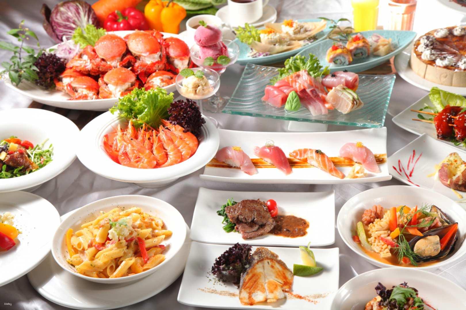 台中-兆品酒店餐券  品東西自助百匯-平日午餐或晚餐  須自行電話訂位